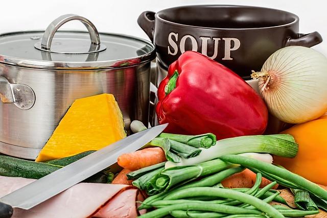 potraviny na polévku