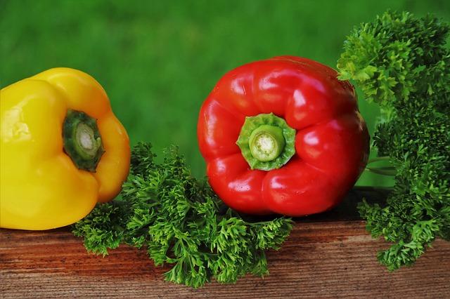 dvě papriky