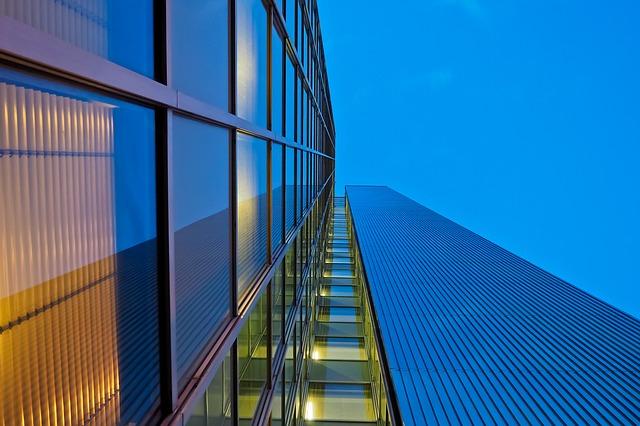 skleněná stavba