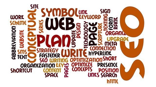 Nápisy súvisiace so SEO optimalizáciou – web, SEO, content, optimization.jpg
